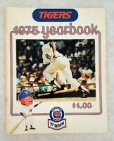 1975 DETROIT TIGERS Yearbook Lolich Freehan Horton Lolich LeFlore Super Clean