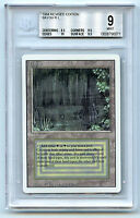 MTG Revised Dual Land Bayou BGS 9.0 (9)  Mint Card Magic WOTC Amricons 0071