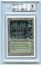 Magic The Gathering WOTC MTG Revised Dual Land Bayou BGS 9 Graded Card 1994