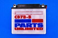 99-05 Yamaha TTR225 Parts Unlimited 12-Volt Heavy Duty Battery NO ACID  CB7B-B
