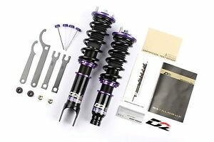 D2 Racing RS Series Coilovers Suspension Kit for Chevy Camaro 10-15 Convertible