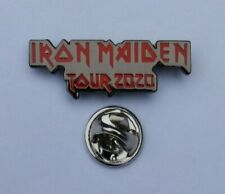 IRON MAIDEN LEGACY OF THE BEAST 2020 CONCERT TOUR PIN