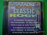 Classic Rock~Karaoke Chart Toppers~20 ~ Welcome to the Jungle ~ Wild Thing ~CD+G