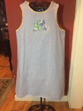 Glorimont Fine Children's Clothing Girls Sz. 6x Thanksgiving Easter Dress Revers