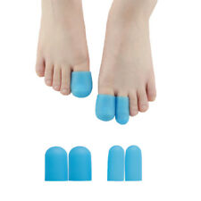 4Pcs Gel Blue Hallux Valgus Big Toe Foot Tube Corn Blisters Protector D0569