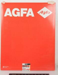 AGFA Photographic Paper Empty Box Packaging Design Large 16x20 g25