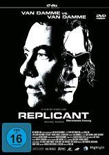 REPLICANT (JEAN-CLAUDE VAN DAMME, MICHAEL ROOKER,...)  DVD NEU