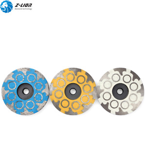 3PCS 4'' Resin Filled Diamond Grinding Disc M14 Grinding Stone Grinding Wheel