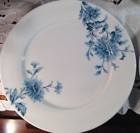 Spode Vintage Denim Blue Porcelain Dinner Plates Set of 4 NEW