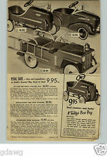 1949 PAPER AD Pedal Car Roadster Sport Steel Bike Bicycle Chieftain Fire Chief