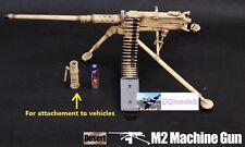 US 1:6 Military Figure M2 .50 cal Browning Machine Gun Model Iraq Desert G_8031B