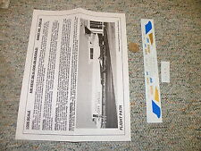 Flight Path decals 1/200 FP20-39 Air West DC-9-10 / 30 blue gold  H81