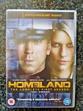 Homeland - Season / Series 1. DVD 4-Disc Set, Box Set. Watched once.