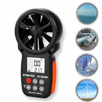 Digital Anemometer Handheld Barometer Meter for Measuring Wind BTMETER BT-100-WM