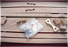 Premium Mountain Dulcimer Kit - Easy To Build - All Hardware Included