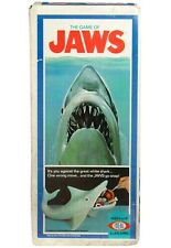 Vintage 1975 Ideal Jaws Great White Shark Game 100% Complete Near Mint w/Box