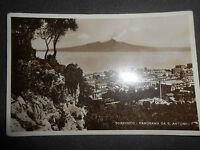 1930 CARTOLINA SORRENTO PANORAMA DA S.ANTONIO NON VIAGGIATA