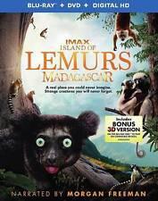 Island of Lemurs: Madagascar (3D & 2D Blu-ray Disc, No DVD, 2015)