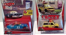 Disney Pixar Cars set of 2 Die Cast- Todd(Pizza Planet) & Mario Andretti