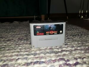 Mortal Kombat II (2) Super Nintendo SNES Cartridge PAL