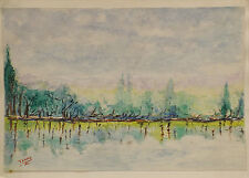 Originale künstlerische Malerein der Zeit Acryl Impressionismus -