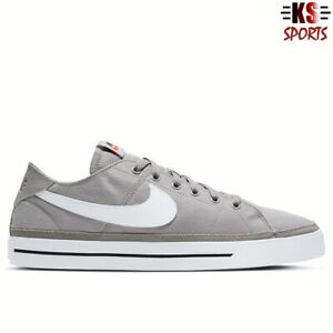 Nike Court Legacy Canvas 'College Grey' Men's Shoes | CW6539 001