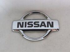 NISSAN ALTIMA TRUNK EMBLEM 98-01 REAR OEM CHROME BADGE back sign symbol logo