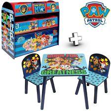 Paw Patrol Sitzgruppe Kinderregal Holzregal Kindersitzgruppe Kinder Holz Tisch