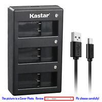 Kastar Battery Triple Charger for Gopro5 GoPro AHDBT-501 AHBBP-501 GoPro HERO