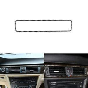 For BMW 3 Series E90 E92 Carbon Fiber Console Air Condition Outlet Vent Cover