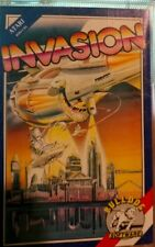 Invasión (Bulldog 1987) Atari 800xl/130xe cassette (tape box manual)