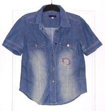 Jolie chemise vintage jeans bleu KENZO T 38