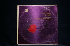 KURT WEILL/WARNER BROS ORCH-Speak Low-Kurt Weill Orch Music PROMO VG+ Vinyl LP