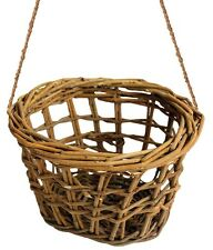 Willow Hay Rack Hayrack Treat Toy Rabbits Hamsters Guinea Pigs or Cosy Nest Bed