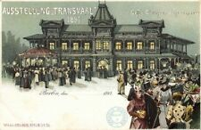 south africa, TRANSVAAL Ausstellung, Cafe Club House Johannesburg (1897) Expo