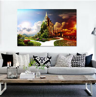 3D Schöne Burg 432 Fototapeten Wandbild Fototapete BildTapete Familie AJSTORE DE