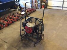 Tempest gas powered fan blower with 5.5 hp Honda engine