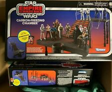 Star Wars The Vintage Collection Carbon-Freezing Chamber Playset NEW Sealed!