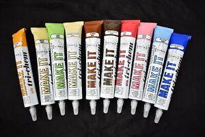 Lot 10 Tri Chem Make-It Vintage Fabric Paint Trichem Liquid Embroidery NOS RARE!