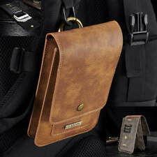 Leather Case Holster Pouch with Belt Clip Samsung Galaxy S10 E Plus S8 S9 Note 9