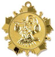 """Karnevalsorden 70mm gold """"Tollität"""" inkl. Relief-Emblem & Band 2,45 EUR/Stück"""