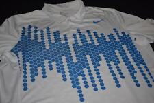 Nike Polo Shirt Tennis Trikot Jersey Camiseta Maglia Casual Waben Honeycomb  XL
