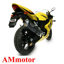 Exhaust Muffler Motorcycle Mivv Suzuki Gsx-R 600 2004 04 Oval Carbon