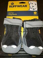 Ruffwear Grip Trex Black Obsidian Dog Paw Hiking Boots Set of 2 Boots 57mm M New