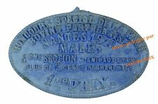 Plaque fonte RACE BOVINE PARTHENAISE 1er prix en 1929 French cow iron cast plate