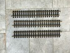 "LGB G-Scale Brass Rail Track - 3 pieces - 24"" Straight"