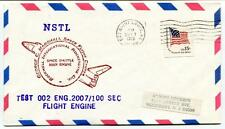 1979 NSTL George Marshall Space Flight Center Rockwell Test 002 Engine 2007/100s