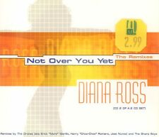 Diana Ross(CD Single)Not Over You Yet (The Remixes) CD 2-New