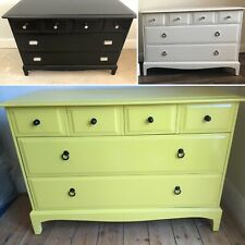 Upcycled spray painted Vintage Stag Dresser - FINISHED TO ORDER IN ANY COLOUR