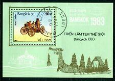 Viet Nam Bangkok 1983 Stamp Show Souvenir Sheet (CTO)